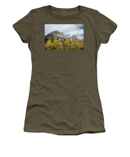 Galatea In Fall Women's T-Shirt (Athletic Fit)