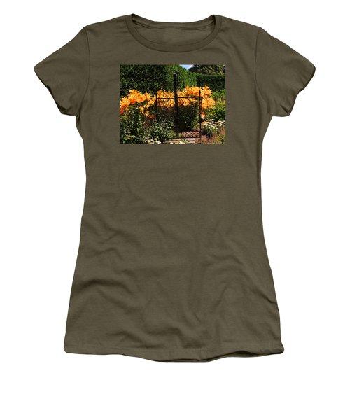 Garden Gate Women's T-Shirt (Athletic Fit)