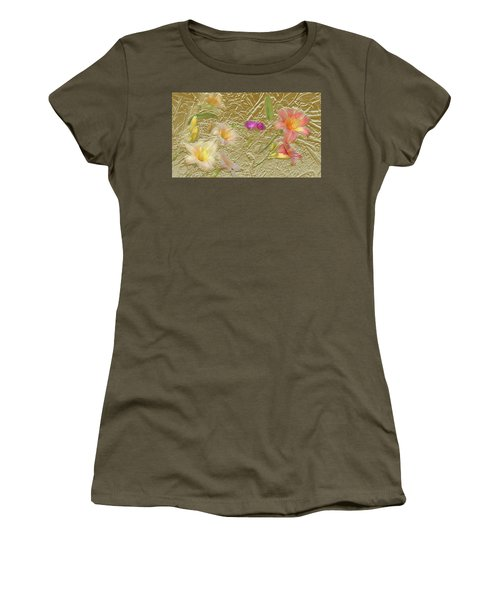 Garden In Gold Leaf2 Women's T-Shirt (Athletic Fit)