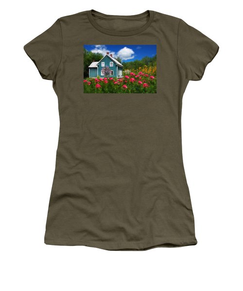 Garden Women's T-Shirt (Athletic Fit)