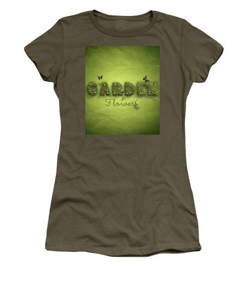 Garden Women's T-Shirt (Junior Cut) by La Reve Design