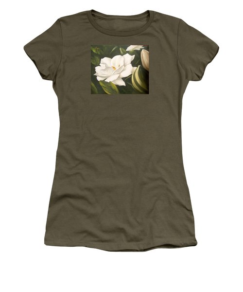 Gardenia Women's T-Shirt (Athletic Fit)