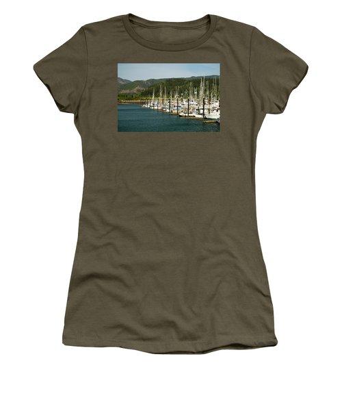 Garibaldi Oregon Marina Women's T-Shirt