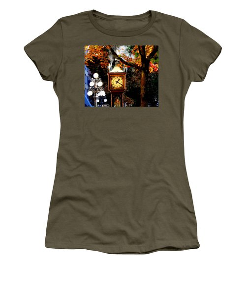 Gastown Steam Clock Women's T-Shirt (Athletic Fit)