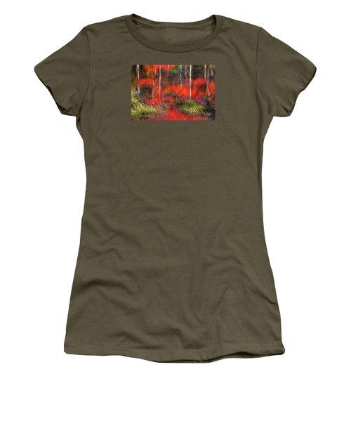 Gatineau Marsh Fall Colors Women's T-Shirt