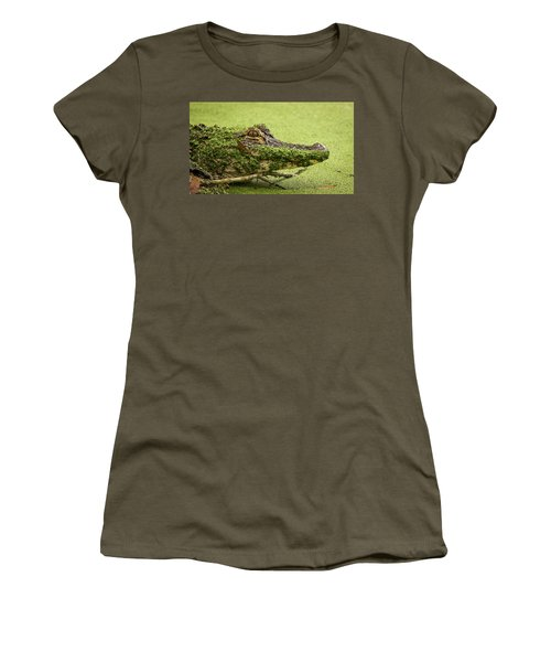Gator Camo Women's T-Shirt (Athletic Fit)