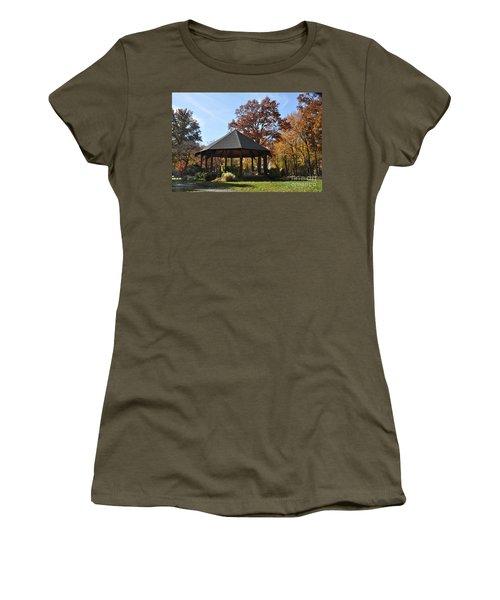 Gazebo At North Ridgeville - Autumn Women's T-Shirt