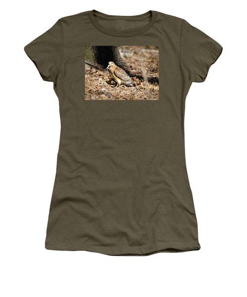 Gecko For Lunch Women's T-Shirt (Junior Cut) by George Randy Bass