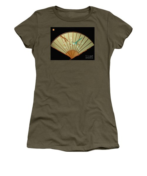 Geisha Sunrise Women's T-Shirt (Athletic Fit)