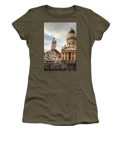 Women's T-Shirt (Athletic Fit) featuring the photograph Gendarmenmarkt by Geoff Smith