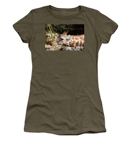 Gentle Beauty Women's T-Shirt (Junior Cut) by Donna Brown