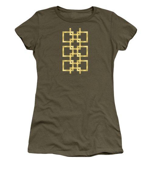 Geometric Transparent Women's T-Shirt