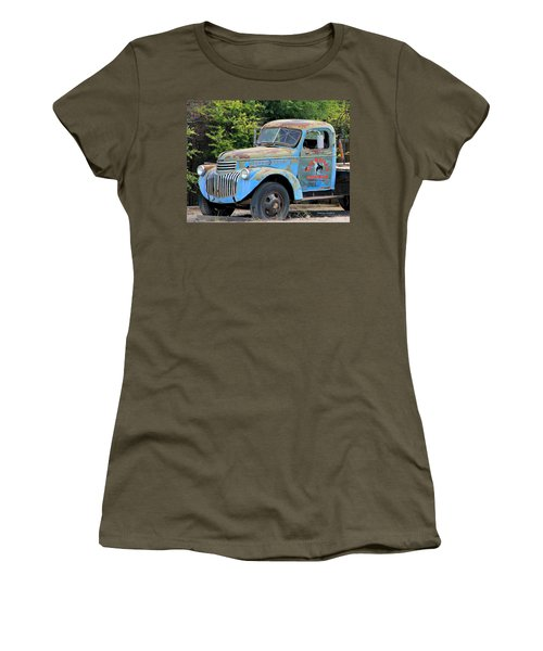 Geraine's Blue Truck Women's T-Shirt