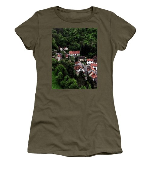 German Village Women's T-Shirt (Athletic Fit)