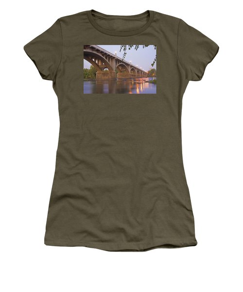 Gervais Bridge Women's T-Shirt (Athletic Fit)