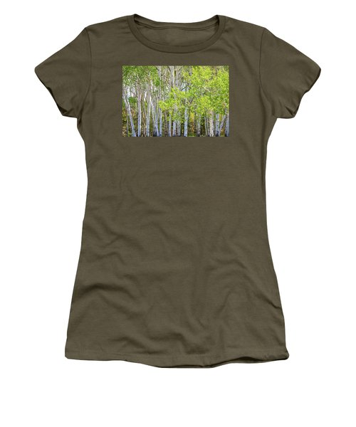 Getting Lost In The Wilderness Women's T-Shirt (Junior Cut) by James BO Insogna