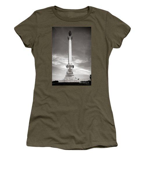 Gettysburg National Park Vermont Stannard Brigade Monument Women's T-Shirt