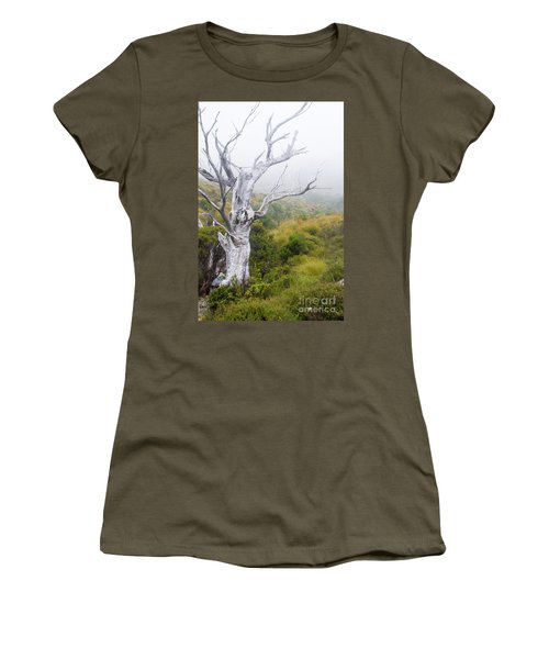 Women's T-Shirt (Junior Cut) featuring the photograph Ghost by Werner Padarin