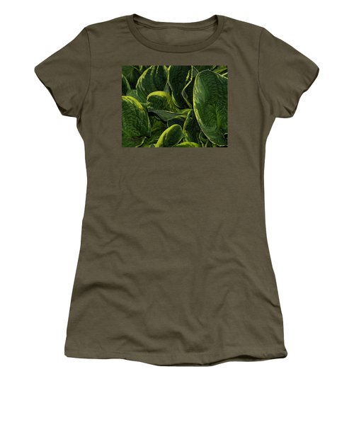 Giant Hosta Closeup Women's T-Shirt