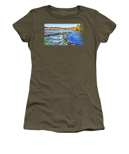 Giant Springs 3 Women's T-Shirt (Junior Cut) by Susan Kinney