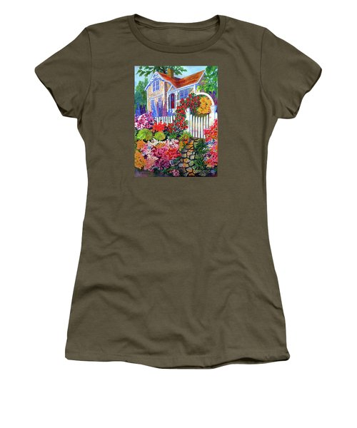 Gingerbread In Bloom Women's T-Shirt