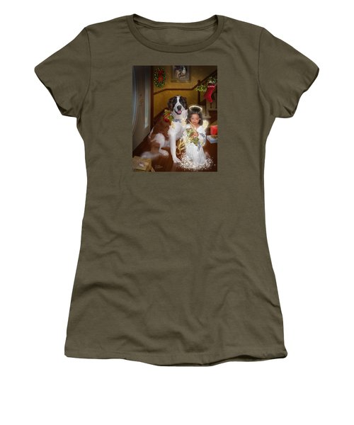 Glad Tidings Women's T-Shirt (Junior Cut) by Doug Kreuger