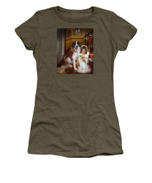 Glad Tidings Women's T-Shirt (Athletic Fit)