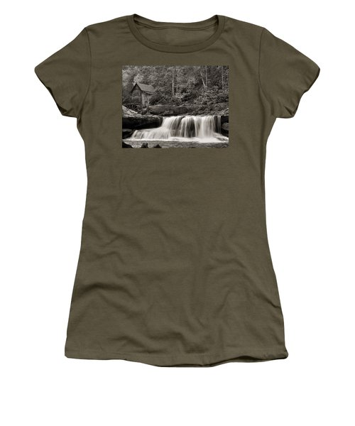 Glade Creek Grist Mill Monochrome Women's T-Shirt