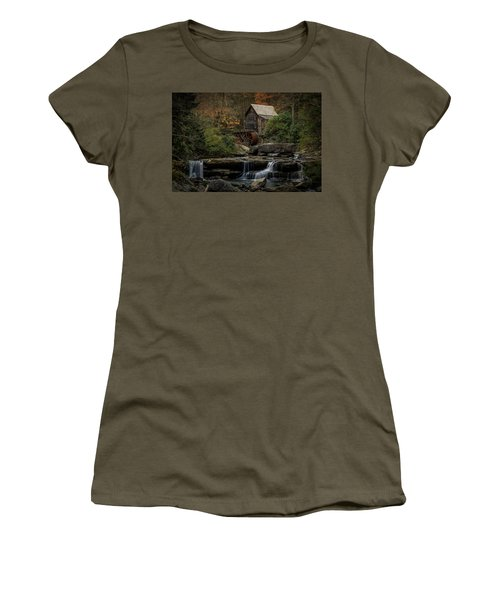 Glade Creek Grist Mill Women's T-Shirt (Athletic Fit)