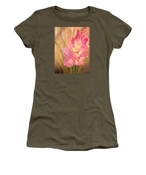 Gladiolas Women's T-Shirt (Athletic Fit)