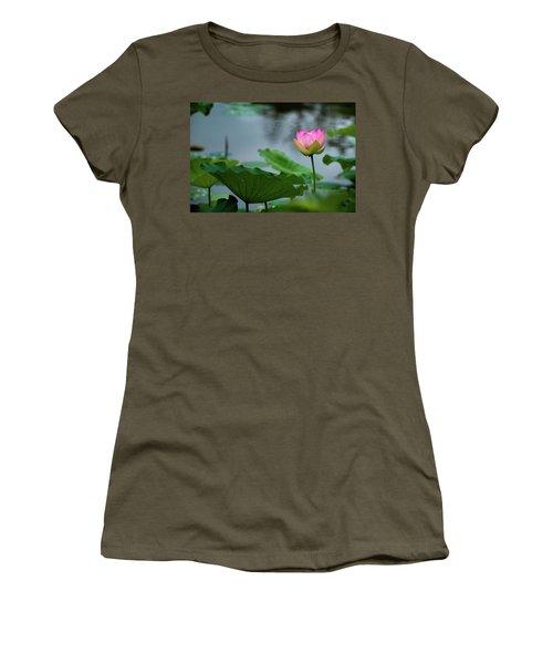 Glowing Lotus Lily Women's T-Shirt
