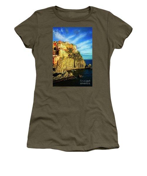 Glowing Manarola Women's T-Shirt