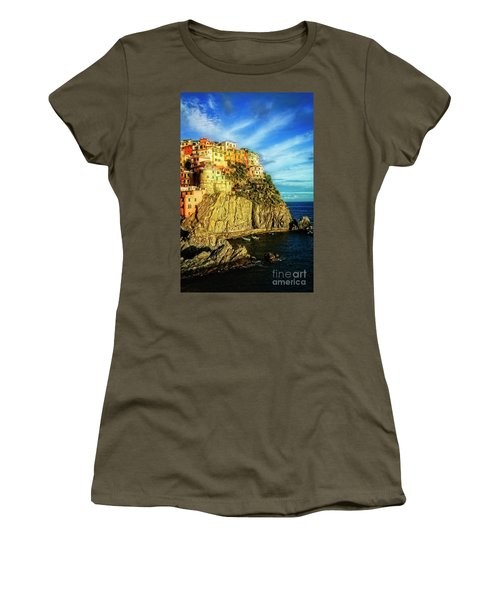 Glowing Manarola Women's T-Shirt