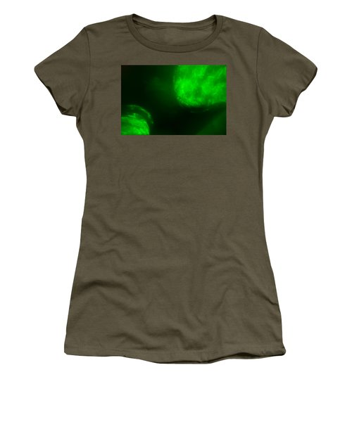 Women's T-Shirt (Athletic Fit) featuring the photograph Glowing Orbs by Greg Collins