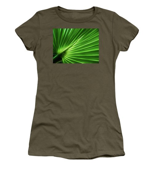 Glowing Palm Women's T-Shirt