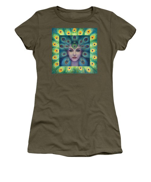 Goddess Isis Visions Women's T-Shirt (Athletic Fit)