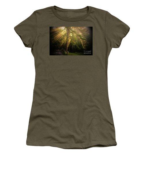 God's Light 2 Women's T-Shirt (Junior Cut) by Geraldine DeBoer