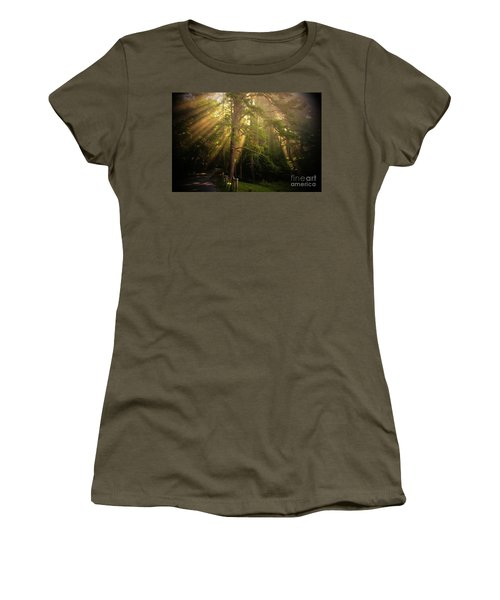 God's Light 2 Women's T-Shirt (Athletic Fit)