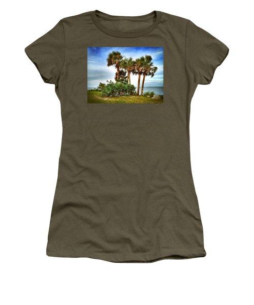 God's Nest Women's T-Shirt (Junior Cut) by Carlos Avila