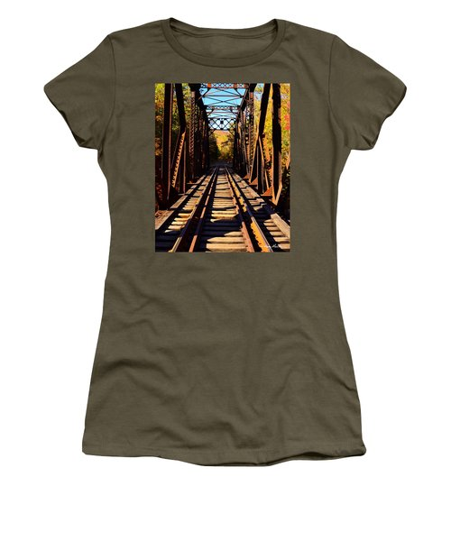 Going Thruogh Women's T-Shirt (Athletic Fit)