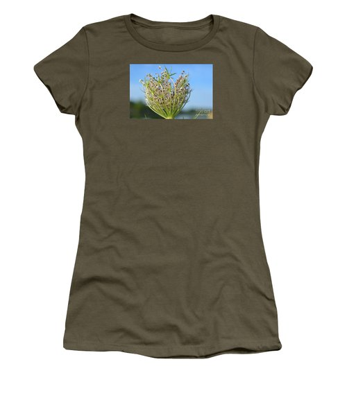 Going To Seed Women's T-Shirt (Junior Cut) by Lila Fisher-Wenzel