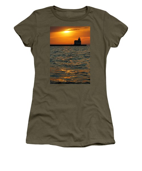 Gold On The Water Women's T-Shirt