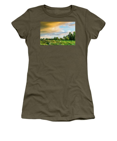 Golden Clouds Women's T-Shirt