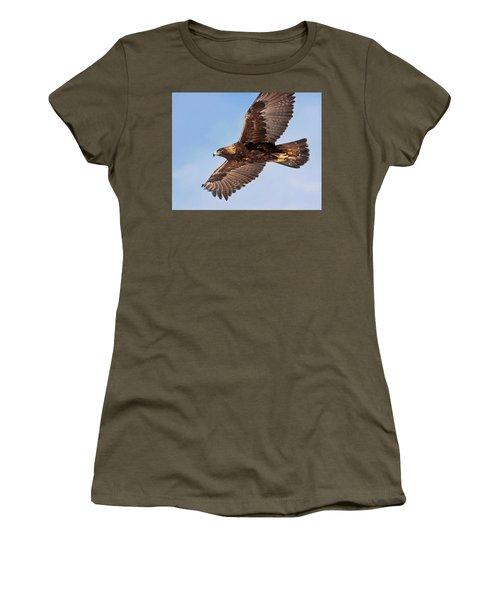 Golden Eagle Flight Women's T-Shirt