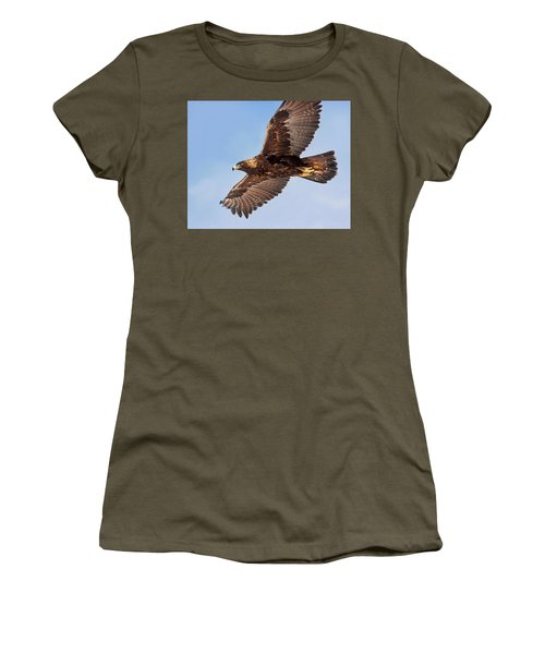 Golden Eagle Flight Women's T-Shirt