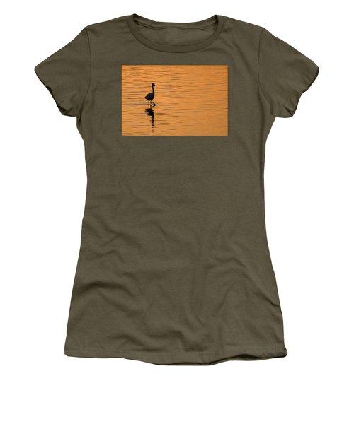 Golden Egret Women's T-Shirt