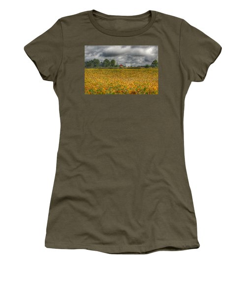 0012 - Golden Fields Farm Women's T-Shirt