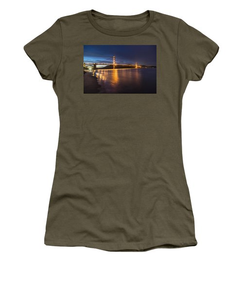 Golden Gate Blue Hour Women's T-Shirt