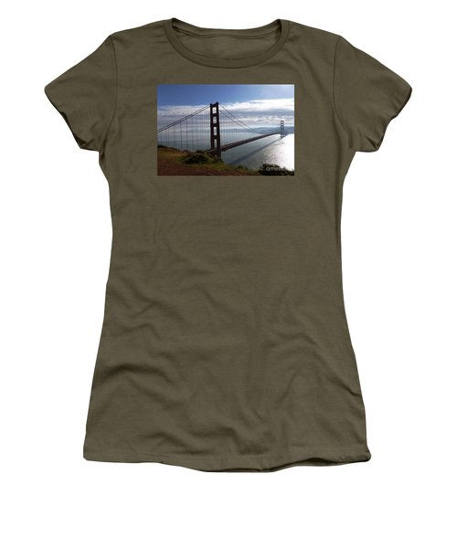 Golden Gate Bridge-2 Women's T-Shirt (Athletic Fit)