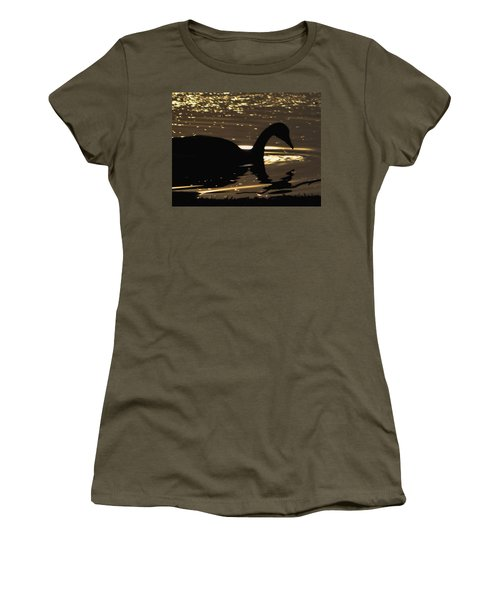 Golden Girl Women's T-Shirt (Junior Cut) by Robert McCubbin